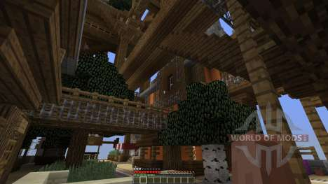 CloudHaven The Floating City para Minecraft