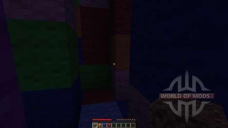 Wool Maze para Minecraft