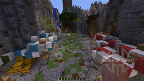 Wilcuth Valley Medieval Castle para Minecraft