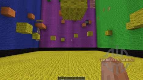 Rubix Cube Parkour para Minecraft