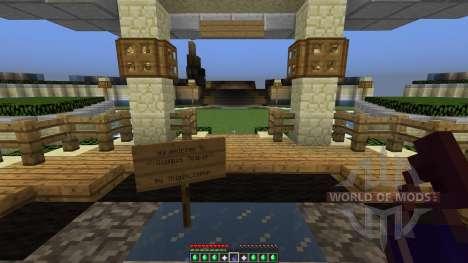Olympus Temple para Minecraft