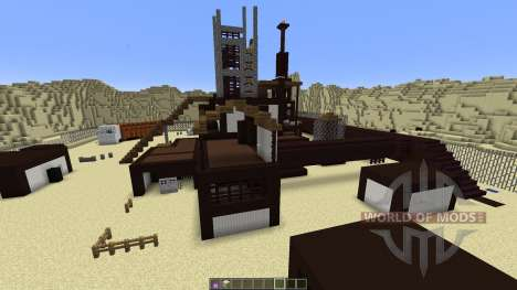 Rust MW2 Map MEGA Planet para Minecraft