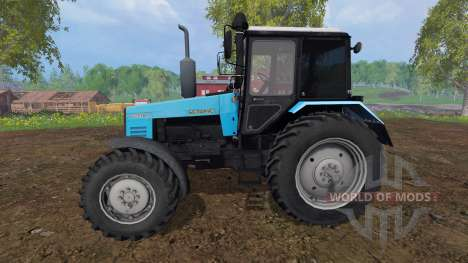 MTZ-W. 2 Bielorruso v2.0 para Farming Simulator 2015