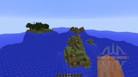 Custom Terrain: New Pixel para Minecraft