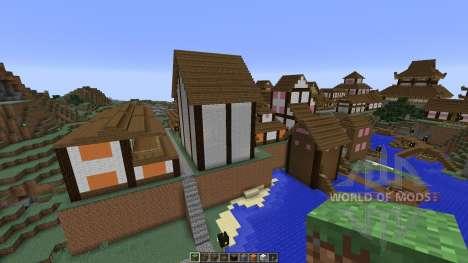 Japanese Village para Minecraft