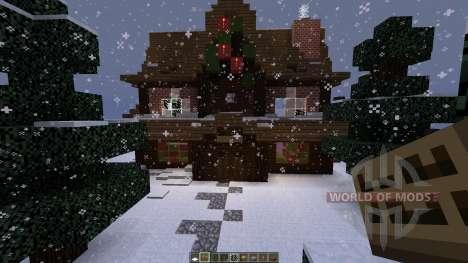 christmas adventure inspired villa para Minecraft