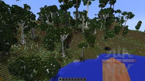 Birch Isle Tree Pack Featurette para Minecraft