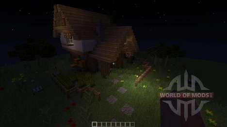 Medieval House Inn para Minecraft