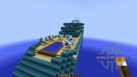 Cruise Yacht full interior [1.8][1.8.8] para Minecraft