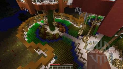 Epic Farm Base Treehouse para Minecraft