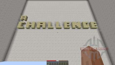 a Challenge para Minecraft