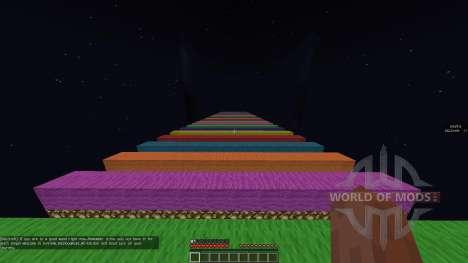 Extreme Rainbow Road [1.8][1.8.8] para Minecraft
