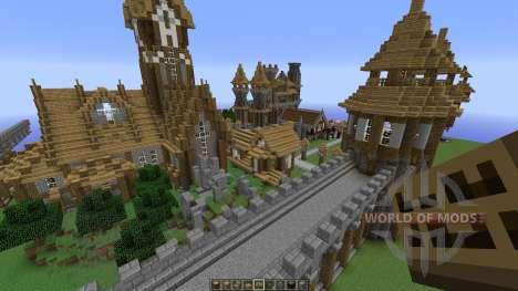 A Server spawn map para Minecraft