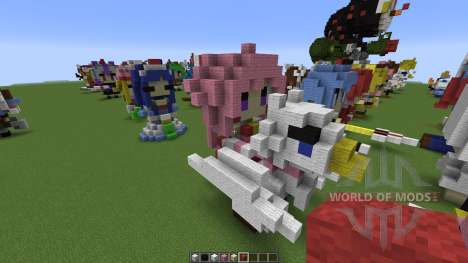 Character Statues para Minecraft
