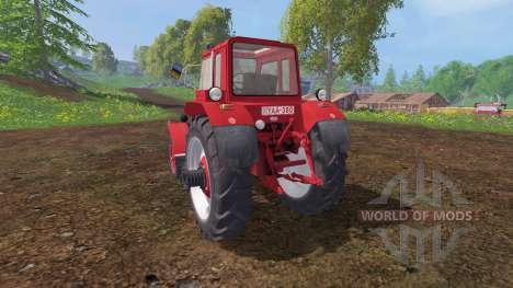 MTZ-80 rojo para Farming Simulator 2015
