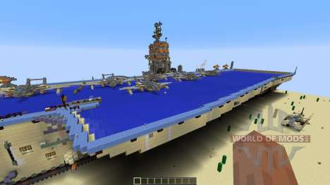 Opposite Aircraft Carrier para Minecraft