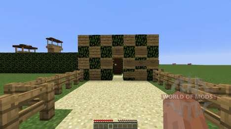 Hedge Maze para Minecraft
