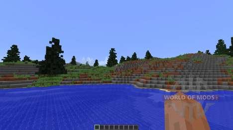 Fog Islands Custom terrain para Minecraft