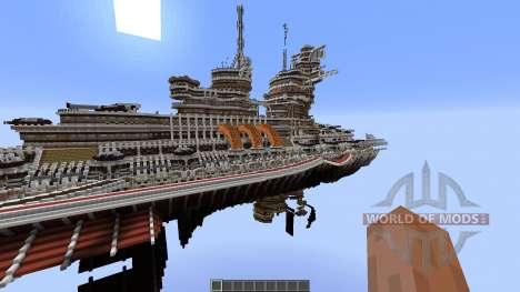 Aurora-Class Battleship para Minecraft