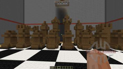 Playable Chess in Minecraft para Minecraft