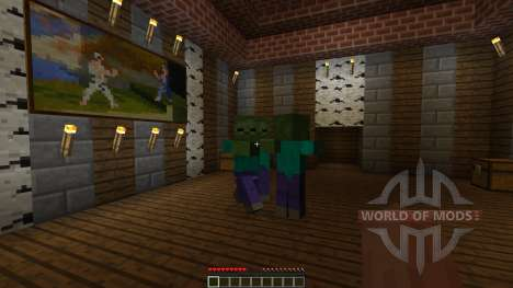 A Villager in the Library [1.8][1.8.8] para Minecraft
