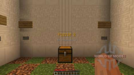 The Wooden Puzzles [1.8][1.8.8] para Minecraft