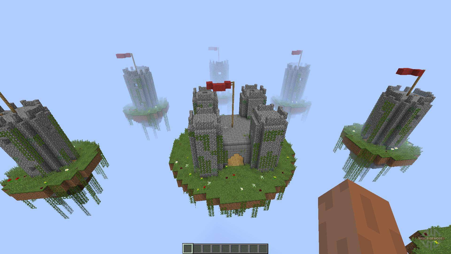 Карты замков для майнкрафт 1.8.8