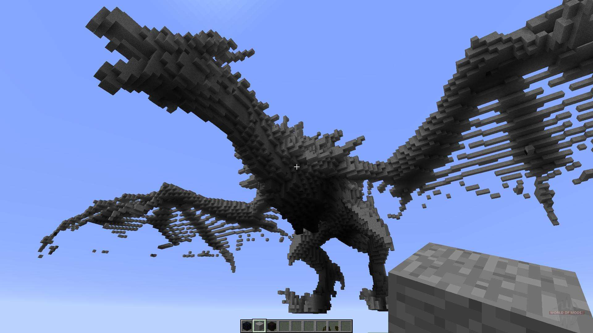 How To Build Dragon Head Mc
