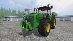 John Deere 8370R v3.0 para Farming Simulator 2015