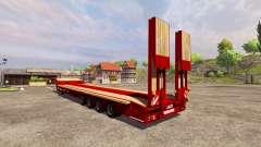 Semi-arrastre de Goldhofer para Farming Simulator 2013