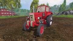 MTZ-80 rojo