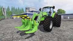Deutz-Fahr Agrotron 7250 TTV front loader
