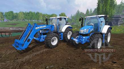 New Holland T6.160 v1.1 para Farming Simulator 2015