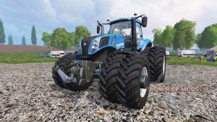New Holland T8.435 v1.3 para Farming Simulator 2015