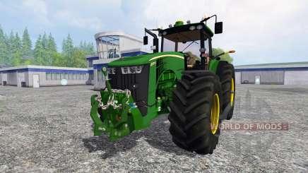 John Deere 8370R v3.1 para Farming Simulator 2015