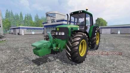 John Deere 6930 v2.0 para Farming Simulator 2015