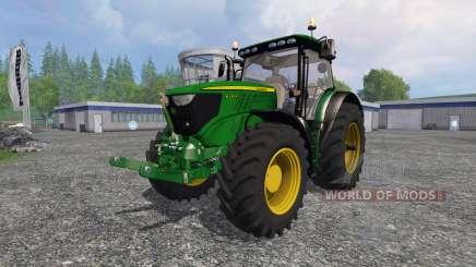 John Deere 6130R v2.0 para Farming Simulator 2015