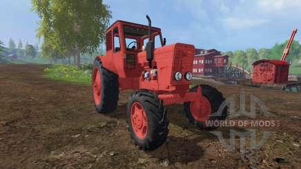 MTZ-52 rojo para Farming Simulator 2015
