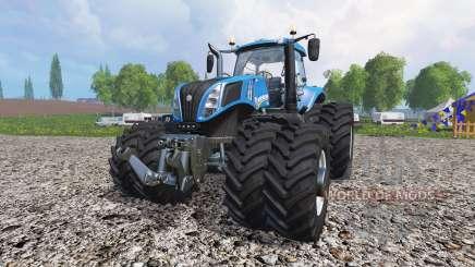 New Holland T8.435 v1.2 para Farming Simulator 2015