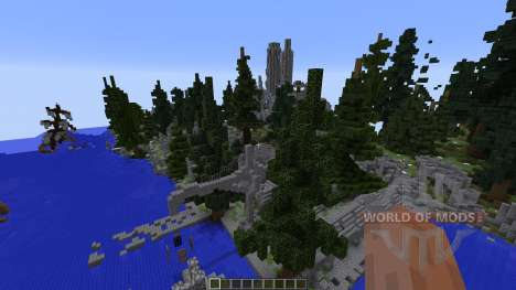 The Ruins of Falcrest para Minecraft