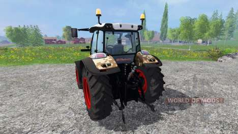 Hurlimann XM 4Ti camouflage para Farming Simulator 2015