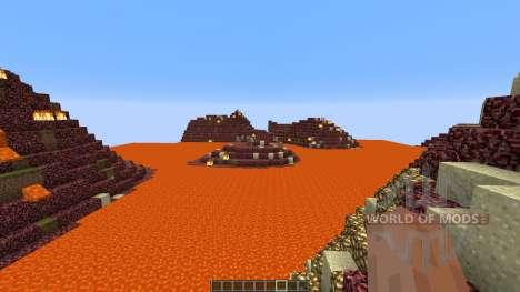 The Nether Shores para Minecraft