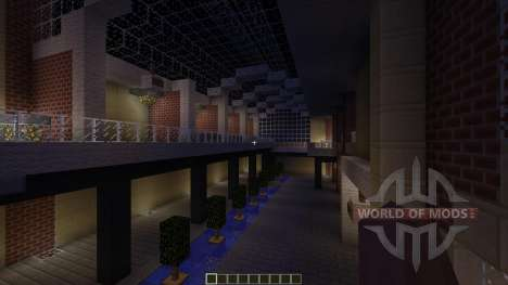 U-Plex Shopping Center Massive Modern Mall para Minecraft