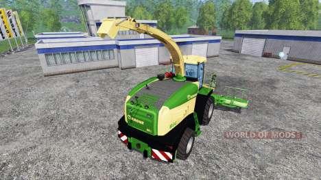 Krone Big X 580 para Farming Simulator 2015