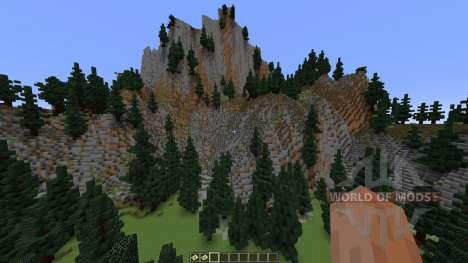 TerraCliff Extreme Terrain para Minecraft