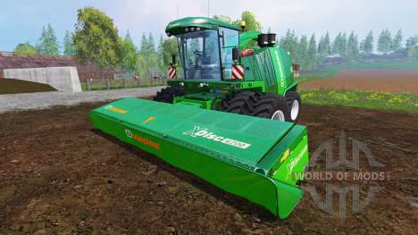 Krone Big X 1100 [twin fronts wheels] para Farming Simulator 2015