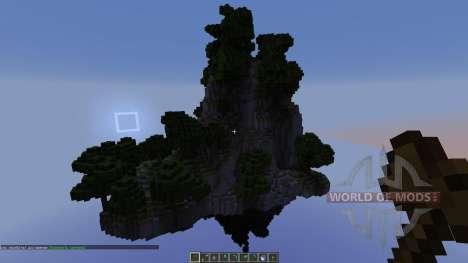 Floating islands Pack 1 para Minecraft
