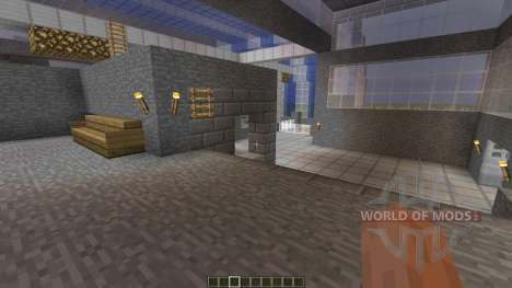 Entrack A PvP Map para Minecraft