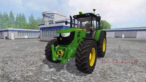 John Deere 6125M para Farming Simulator 2015