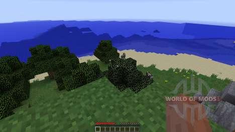 Forest Island para Minecraft